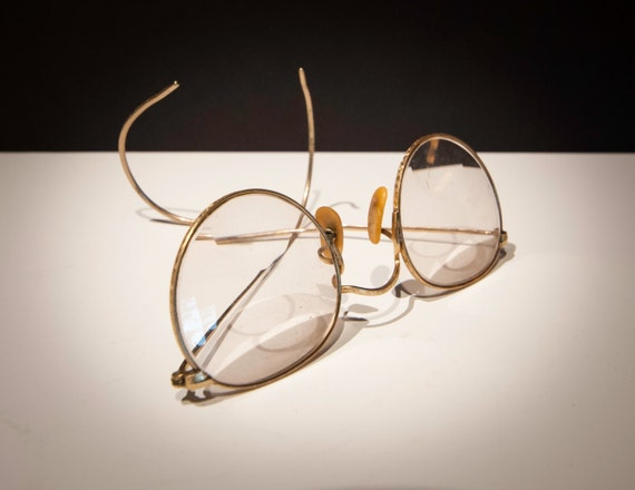 1920's 12K Yellow Gold Spectacles