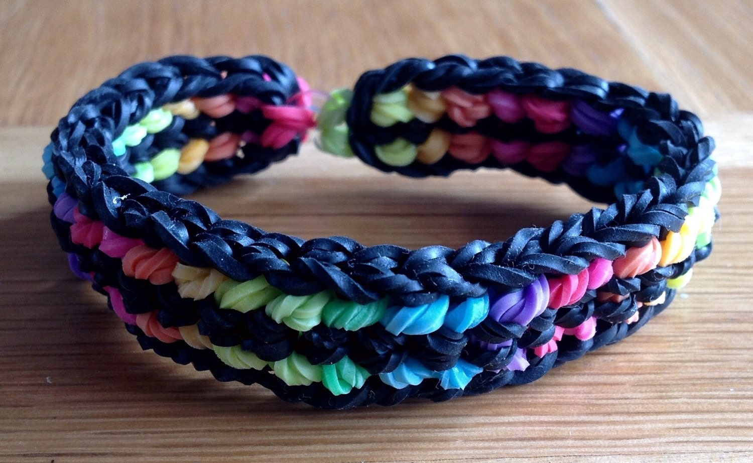 how to make a dragon scale loom band