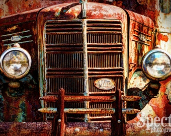 Rusty Antique Mack Truck Fine Art Photography Print