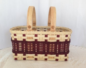 Two Handled Tote Basket