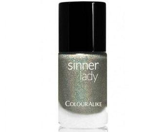 Holographic nail polish Sinner Lady