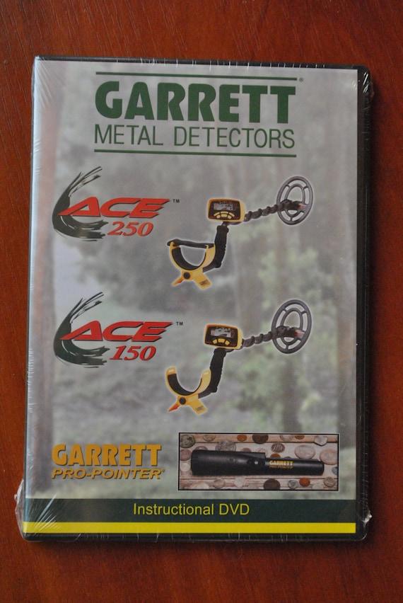 garrett ace 250 ace 150 metal detector manual by megagaragesale. Black Bedroom Furniture Sets. Home Design Ideas