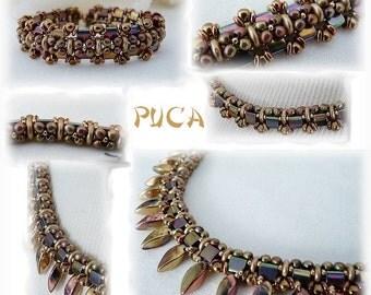 """Schéma Collier et bracelet """" Florine"""""""