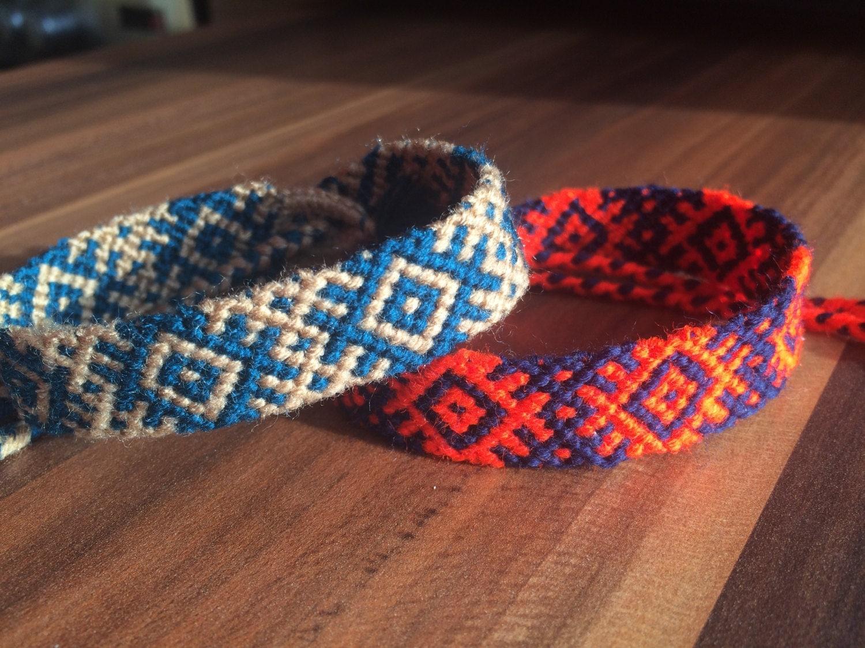 handmade woven bracelets - photo #34