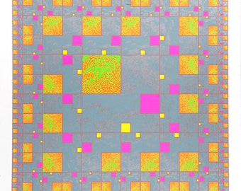 CLOUD - Limited Edition Silk Screen Print
