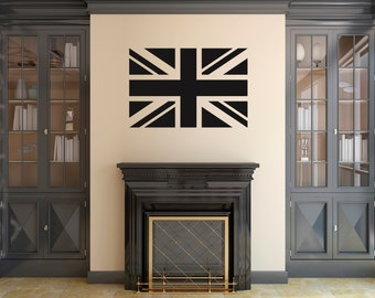 Union Jack Wall Sticker / Decal. Flag of United Kingdom (UK) Great Britain (GB)