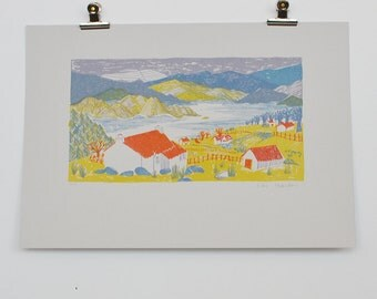 Scottish Highlands Screen Print