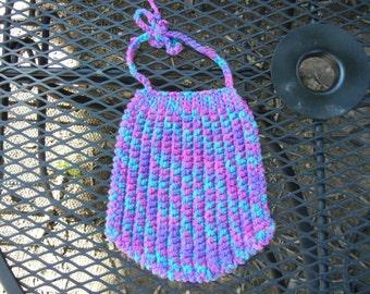 Crochet Ascot Baby Bib