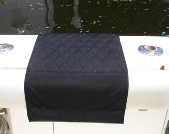 Quilted/Plush Sunbrella Boat Mat/Boarding Mat/Step Pad/Gunnel Mat/Non Slip outdoor mat - Protect your boat!