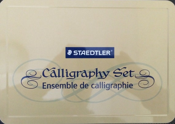 Staedtler Calligraphy Set By Writetothepoint1 On Etsy