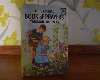 Ladybird book and prayers through the years.