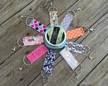 Variety Chapstick Holder Keychain