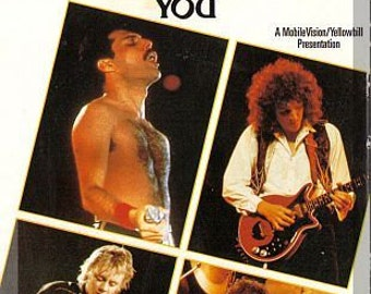 VHS - Queen: We Will Rock You (1993) *Freddie Mercury / Rare Concert Footage*
