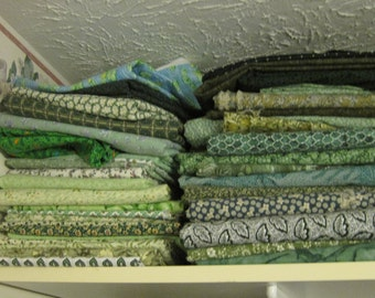 Quilting Fabric 10 Yd Bundles assorted colors and patterns