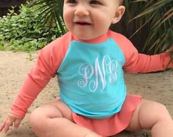 Baby Girl Swim Shirt