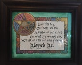 Celtic Knot Work Wedding / Hand Fasting Blessing
