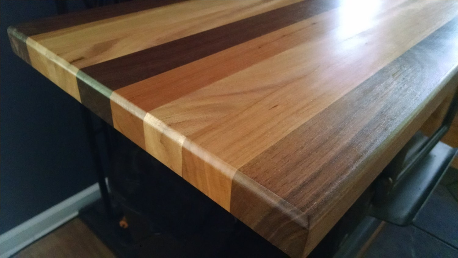 Wood Bar Top Rustic Table Tops Made From Mahogany Walnut And Cherry Wood