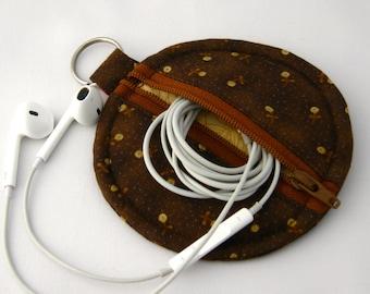 Keyring Earphone Case