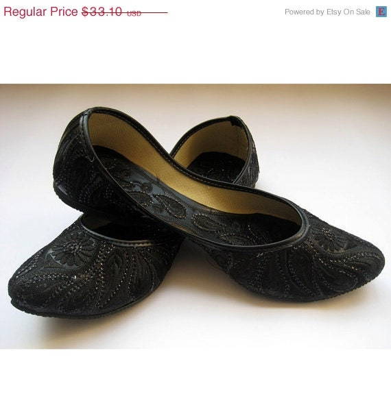 sale black sequin bridal ballet flats black paisley shoes wedding