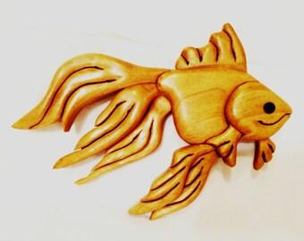 Intarsia Fish