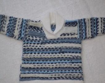 Boys roll neck sweater