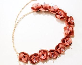 Flower headband/crown