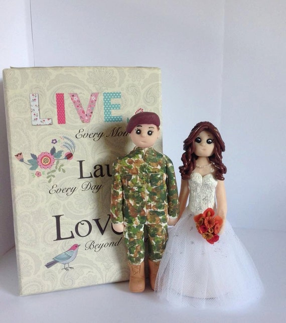 wedding cake toppers army groom wedding cake topper army groom and groom 26380