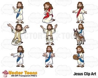 Jesus Clip Art, Digital Clipart, Digital Graphics