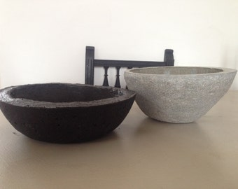 Bowl in concrete. Concrete Bowl