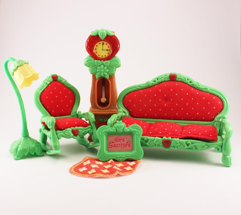 Vintage Strawberry Shortcake Furniture For Strawberry Shortcake Berry Happy Home Living Room