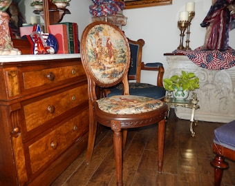 FRANCE TOILE CHAIR