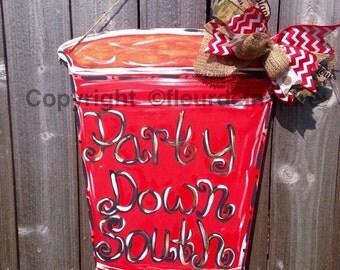 Custom Red Solo Cup door hanger