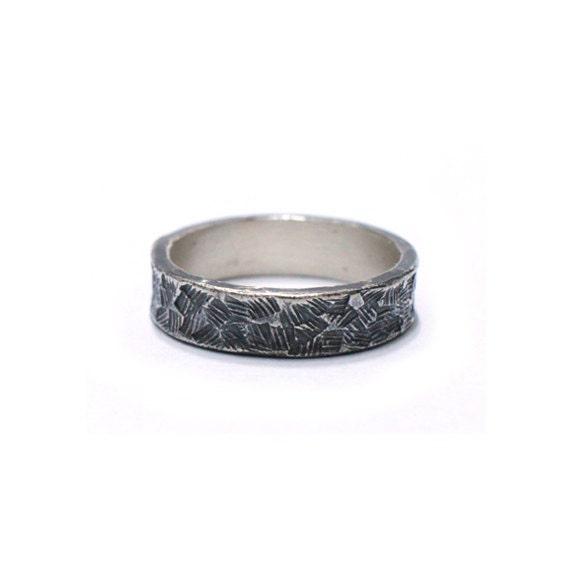 simple silver ring handmade rings