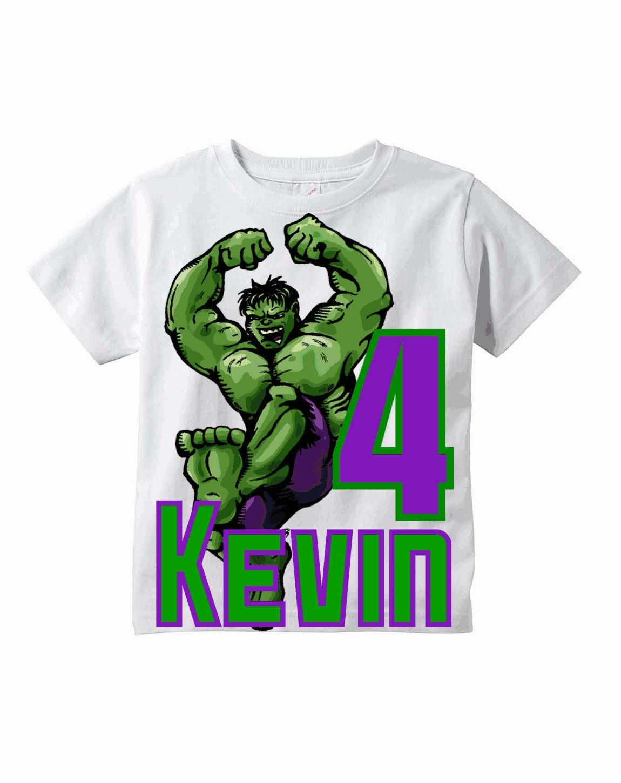 Summer sale incredible hulk birthday shirt name by snapfishday for Hulk fishing shirts