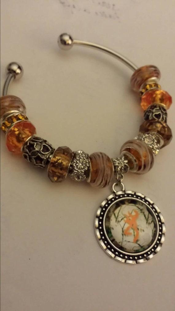 browning european charm bracelet by silverandsteeljewels