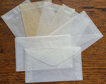 Vintage Glassine Envelopes