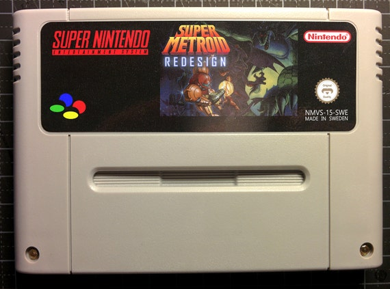 Super Metroid: Redesign Fanmade game for Super Nintendo SNES