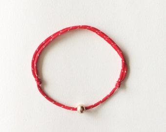 Red String Bracelet (thin)   Protection Bracelet   Kabalah Bracelet   Lucky Bracelet   14K Gold Filled bead