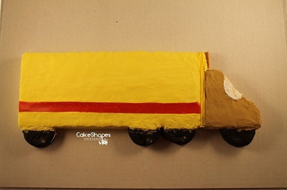 Truck Cut Up Cake Pattern