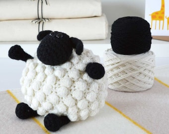 DIY Crochet Kit - Sheep,DIY Crochet Kits,Amigurumi Kit,Amigurumi Kits,Crochet Kits,Crochet Kit,Knitting Kit,Knitting Kits,crochet,crocheting