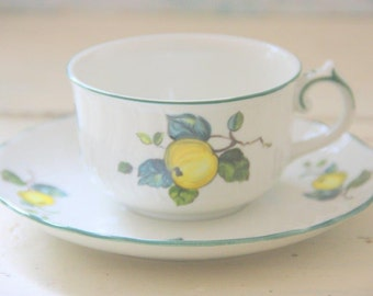 Vintage Villeroy and Boch Jamaica Porcelain Cup and Saucer