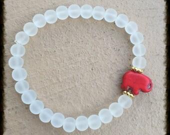 Elephant luck & love bracelet