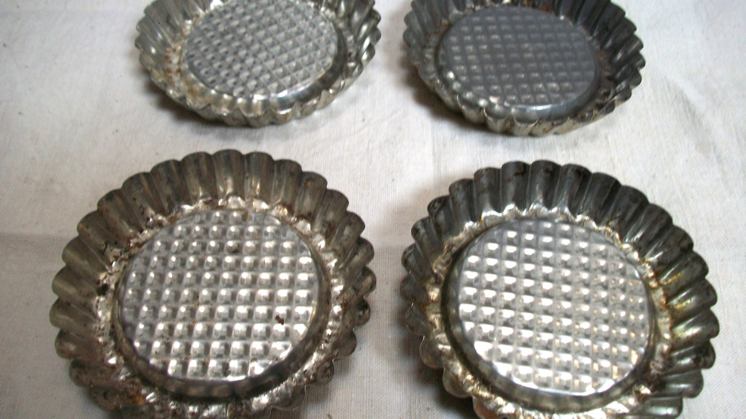 Set Of Vintage French Pans Tart Tarte By Thefrenchkitchen