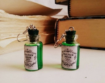 Polyjuice Potion Glass Bottle Harry Potter Inspired