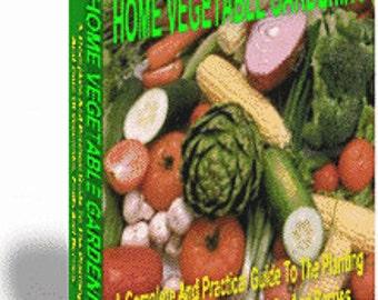 Home Vegetable Gardening PDF EBOOK