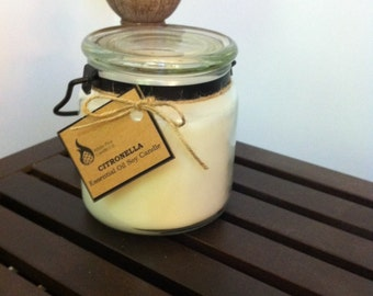 Citronella Lantern Soy Candle