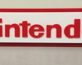 Nintendo Wall Sign