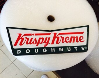 Krispy Kreme Logo Sign