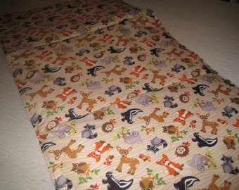 WIPEOFF CHANGING Pad  Forest Animals padded