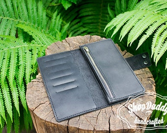 Leather Organizer, Travel Wallet, Large Wallet, Wallets For Women, Phone Leather Wallet, Womens Wallet, Engraved Wallet, Gift for Her